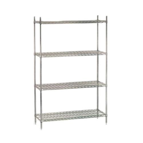 Chrome Wire Shelf Units - CWS ECC 1836
