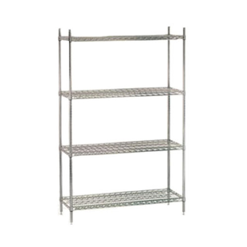 Chrome Wire Shelf Units - CWS ECC 1848