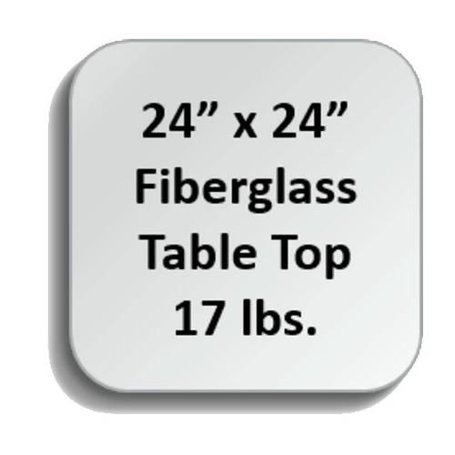 Fiberglass Tabletops - SQF-2424