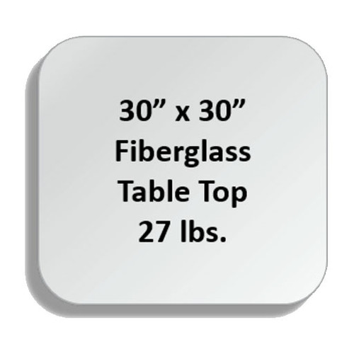 Fiberglass Tabletops - SQF-3030