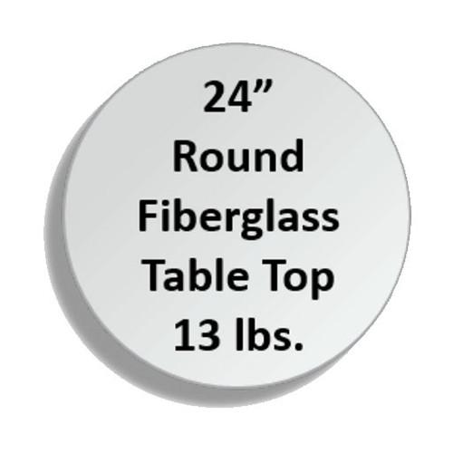 Fiberglass Tabletops - RNDF-24
