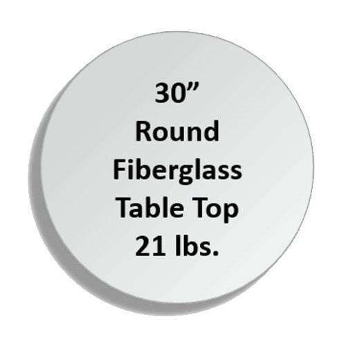 Fiberglass Tabletops - RNDF-30