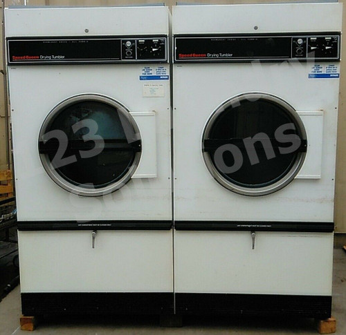 Speed Queen 75lb Dryer STB75CG 3PH 60HZ with reverse capability (used)