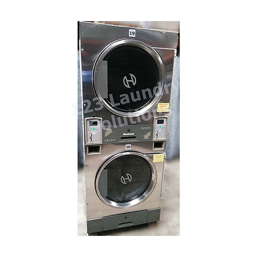 Huebsch 30lb Stack Dryer Stainless Steel 120V DTCK9910006655 (USED)