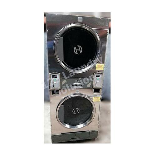 Huebsch 30lb Stack Dryer Stainless Steel 120V DTCK9910006654 (USED 1)