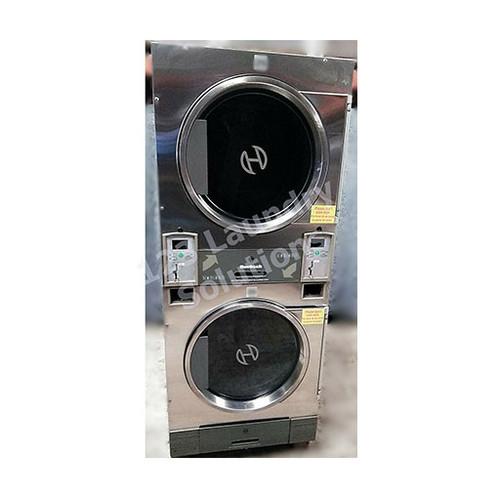 Huebsch 30lb Stack Dryer Stainless Steel 120V DTCK9910006653 (USED 29)