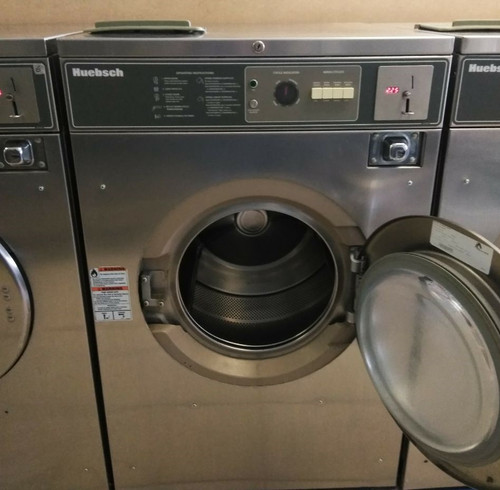 Huebsch 27 lbs, Front Load Washer, 208-240v,  Stainless Steel, HC27MD2OU40001
