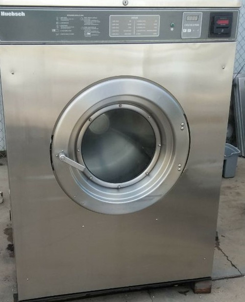 Huebsch Front Load 80 lbs Washer 208-240v 3 Phase Stainless Steel HC80VXVQU60001
