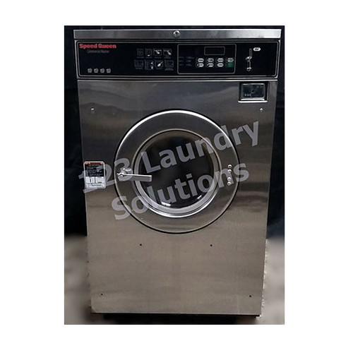 Speed Queen 35lb Stainless Steel Washer 3PH 208-240V 1000179870 (Refurbished)