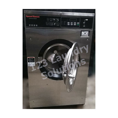 Speed Queen 35lb Stainless Steel Washer 3PH 208-240V 1000179868 (Refurbished)
