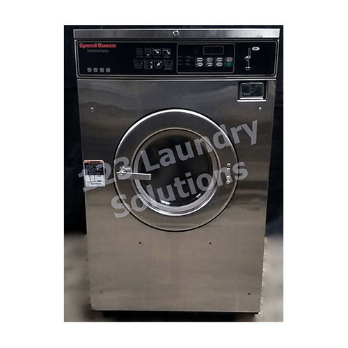 Speed Queen 35lb Stainless Steel Washer 3PH 208-240V 1000179875 (Refurbished)