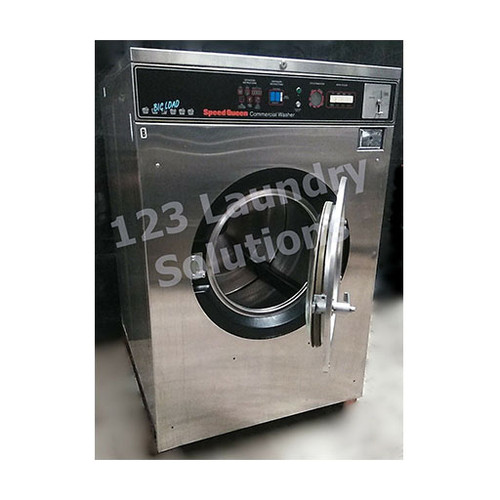 Speed Queen 60lb Stainless Steel Washer 3PH 208-240V 3110471792 (Refurbished)