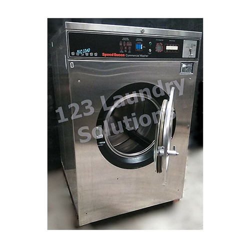 Speed Queen 60lb Stainless Steel Washer 3PH 208-240V 3110472419 (Refurbished)