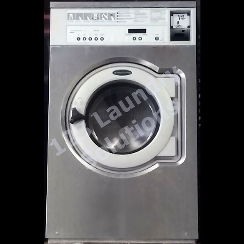 WASCOMAT 30LB STAINLESS STEEL FRONT LOAD WASHER E630a 3PH 208-240V REFURBISHED