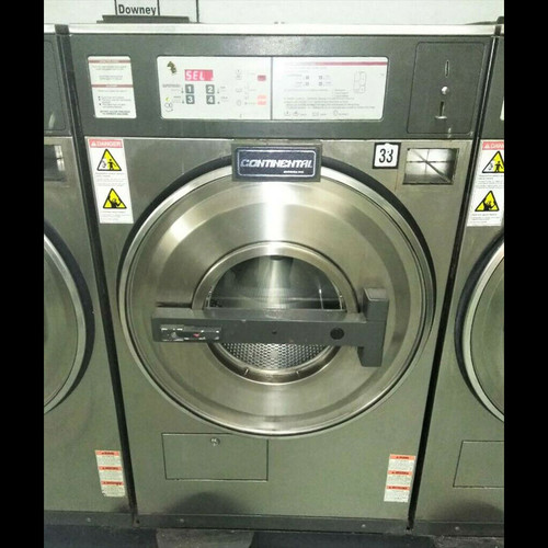 CONTINENTAL 30 LBS FRONT LOAD COMMERCIAL WASHER L1030CM2131 SERIAL #1018724F06 REFURBISHED