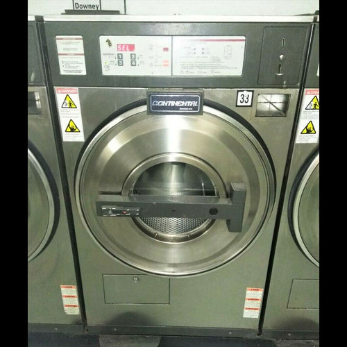 CONTINENTAL 30 LBS FRONT LOAD COMMERCIAL WASHER L1030CM2131 SERIAL #1018728F06