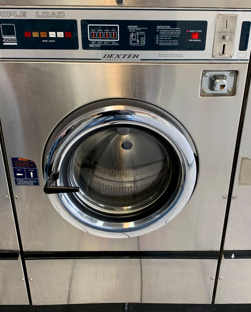 DEXTER T400 TRIPLE LOAD WASHER STAINLESS STEEL 3PH/208-240 S/N 401134
