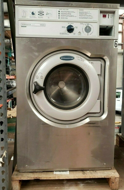 WASCOMAT W620 FRONT LOAD WASHER 208-240 3PH SN: 00520/0073457 REFURBISHED