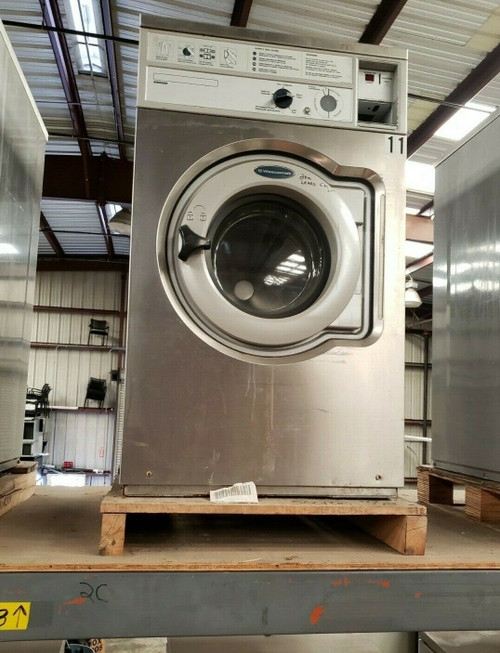 WASCOMAT W620 FRONT LOAD WASHER 208/240 3PH S/N: 005200034201 REFURBISHED