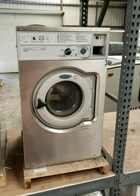 WASCOMAT W620 FRONT LOAD WASHER 208/240 3PH S/N: 005200034284 REFURBISHED