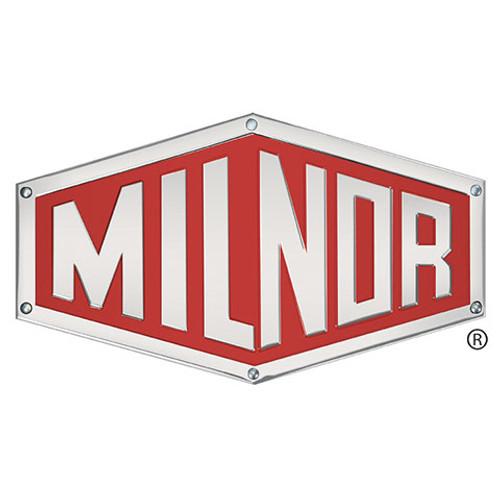 Milnor # 01 10158A NAMEPLATE ALUM CWE