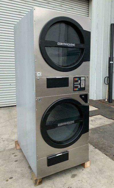 AMERICAN DRYER ADC ADG330D STACK DRYER, 30LB, STAINLESS S/N 472445CC [REF]