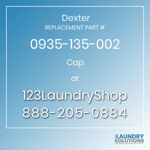 Dexter Replacement Number 0935-135-002
