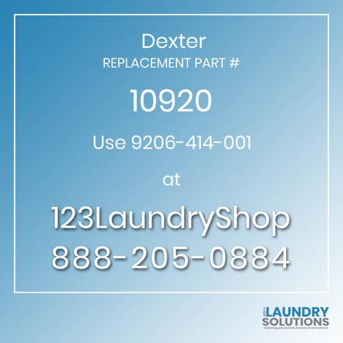 Dexter Replacement Number 10920
