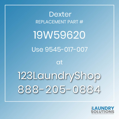 Dexter Replacement Number 19W59620