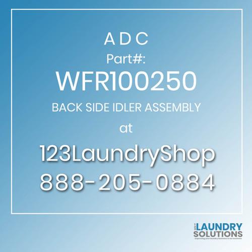 ADC-WFR100250-BACK SIDE IDLER ASSEMBLY