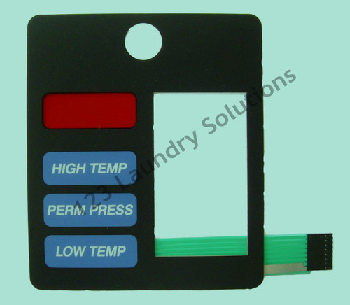 D- GENERIC AD-530 LEFT SIDE BLUE KEYPAD/TOUCHPAD FOR ADC AMERICAN DRYER 112564