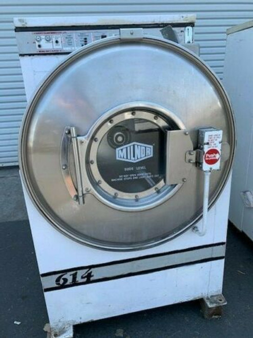 MILNOR COMMERCIAL WASHER 35LB S/N: AAL5820303, M/N: 30015C4A