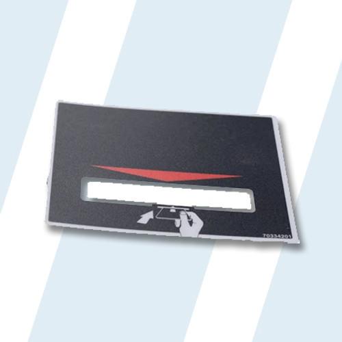 Huebsch Washer/Dryer OVERLAY CARD READER-BLACK