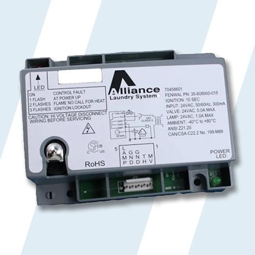 Alliance #70458601P - Alliance Dryer CONTROL,IGNITION 24V NON-EU ROHS PKG
