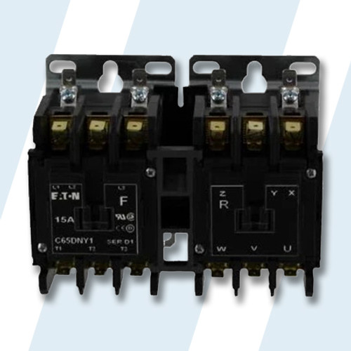 Unimac #M413615P - Unimac Dryer CONTACTOR REVERSE-24V 6 PL PKG