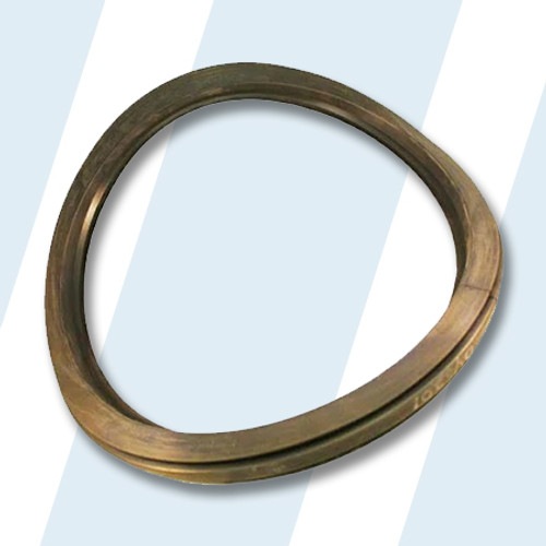 Wascomat #438046201 Washer GASKET,W/FL125/185 DOOR ASSY (BLACK)