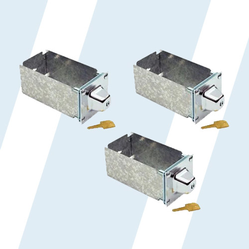 """ESD #72303-XD ESD #72303-XD COIN BOXES 8"""" SQ QUANTUM 3 Pack"""