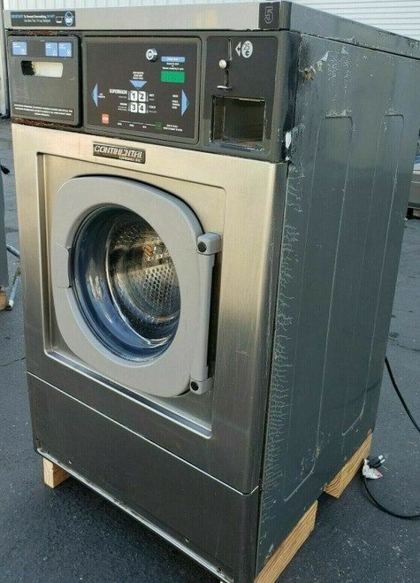Continental/Girbau Front Load Washer EH020CA1324121 20LB, 120V 60Hz 1PH, Serial #: 1432493A08
