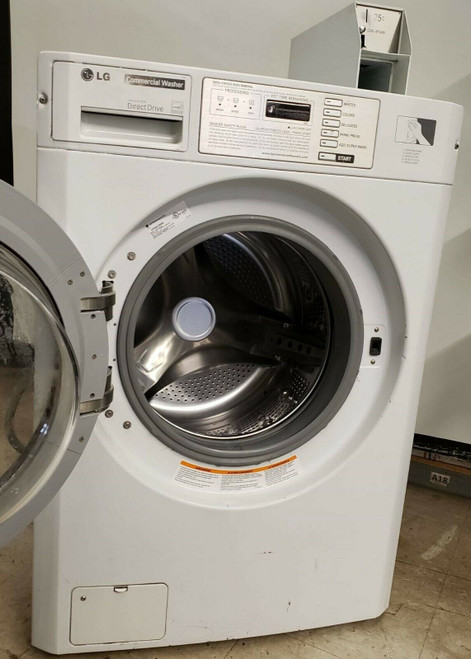 LG (White) Front Load Washer (GCW1069QS), Double Load Serial#: 302KWSB8P246