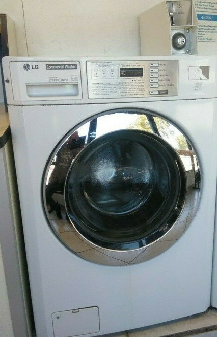 LG (White) GCW1069QS Front Load Washer (Double Load), 120V 60Hz 5A, Serial #: 306KWUC90534
