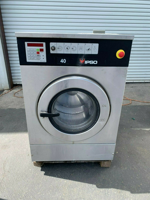 IPSO WASHER STAINLESS STEEL, OPL, WE181C RECONDITIONED