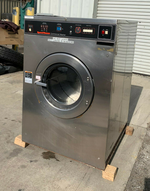 Speed Queen Commercial Front Load Washer SC50MN2OU40001 3PH 50lb Serial #: M0899154087