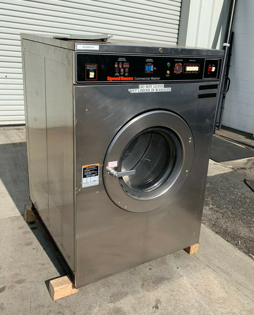 Speed Queen Commercial Front Load Washer SC50MN2OU40001 3PH 50lb Serial #: M0899154088