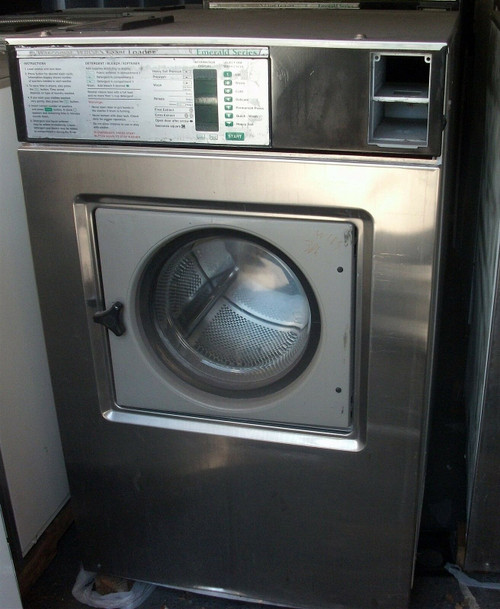 Wascomat W-185 ES 3ph 50lb Commercial Front Load Washer