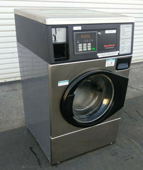 Speed Queen SFNWCASG113TN01 Front Load Washer, Coin Op 22LB 120V, Serial: 1708032699
