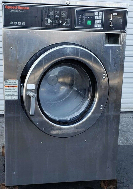 Speed Queen SC40BC2Y160001 Front Load Washer Coin Op 40LB, 208-240V, P/N: 0801008152
