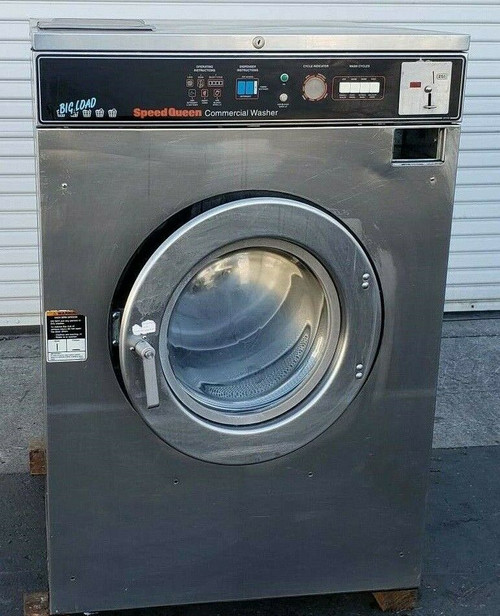 Speed Queen SC50MD2YU60001 Front Load Washer Coin Op 50LB, 208-240v 1PH, S/N: 3040210602