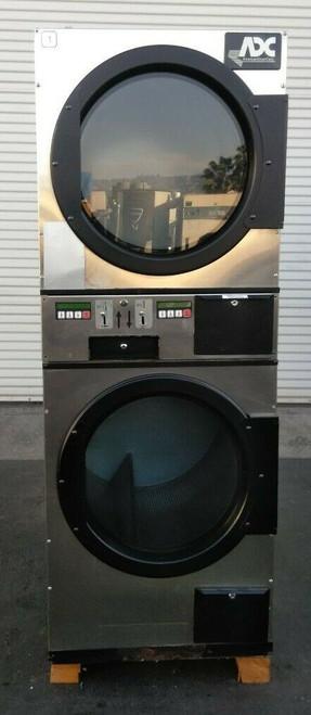 ADC (American Dryer Corp) ADG236D Stack Dryer Coin Op 30LB 120V, S/N: 495185 ET