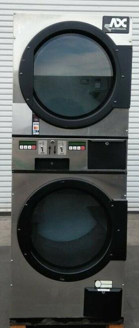 ADC (American Dryer Corp) ADG236D Stack Dryer Coin Op 30LB 120V, S/N: 495182 ET