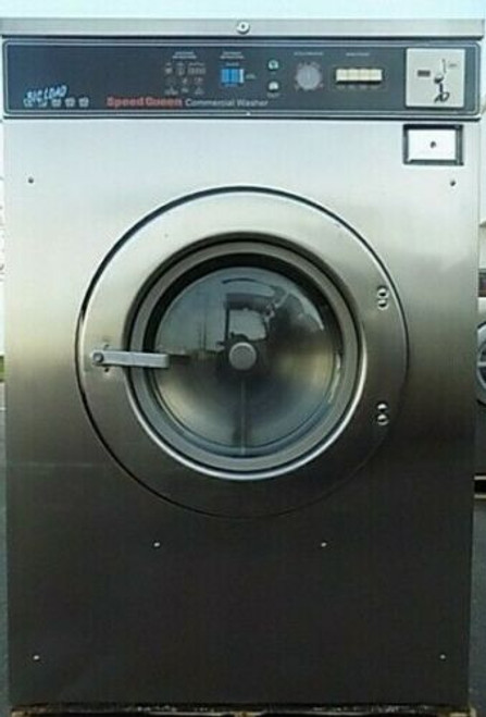 Speed Queen Front Load Washer Coin Op 50LB, Model:SC50MD20V20001